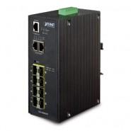 Коммутатор Planet IGS-10080MFT IP30 Industrial 8* 100/1000F SFP +
