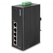 Коммутатор Planet ISW-504PS IP30 5-Port/TP Web/Smart POE