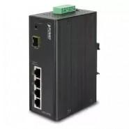 Коммутатор Planet ISW-514PSF IP30 4-Port/TP+1-Port POE