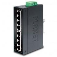 Коммутатор Planet IGS-801T IP30 Slim type 8-Port Gigabit Ethernet