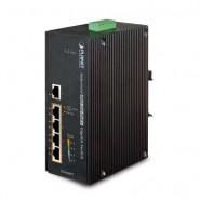 Коммутатор Planet IGS-504HPT IP30 5-Port 4-Port POE+